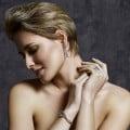 2.43 carat diamond design bracelet in white gold