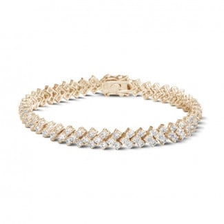 Red Gold - 9.50 Ct bracelet in red gold with fishtail design