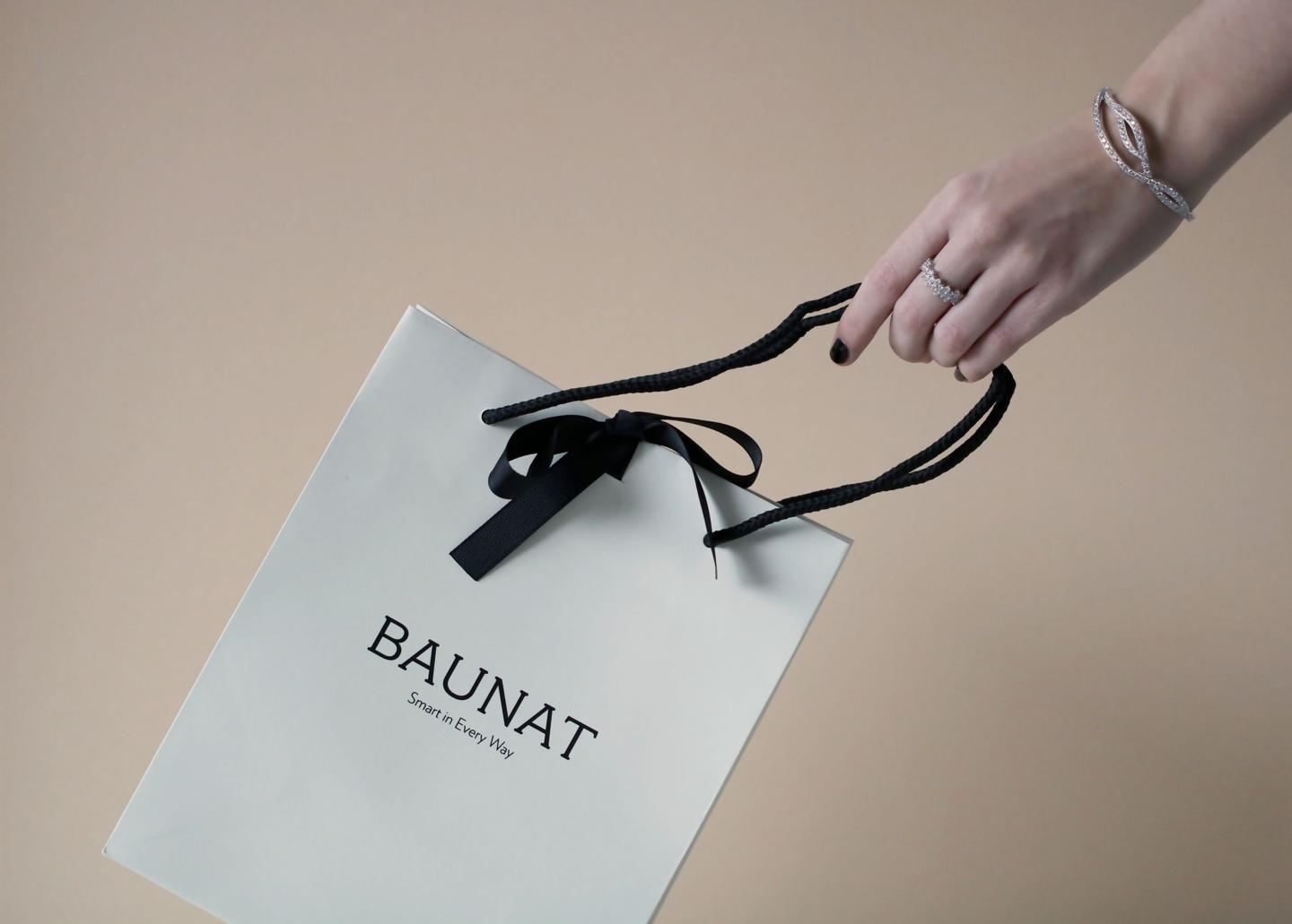 BAUNAT the art of giving at the best diamond prices on the market.