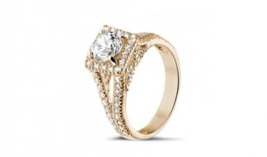 Vintage-style diamond ring