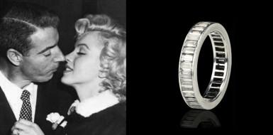 Marilyn Monroe's eternity ring