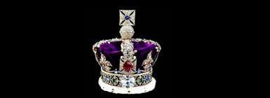 The British crown