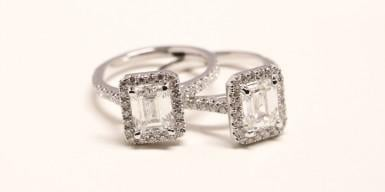 Emeralds: perfect alternatives for solitaire rings