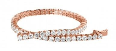 Buying diamonds: a new look at the tennis bracelet
