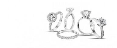 Diamond rings, even more beautiful in platinum