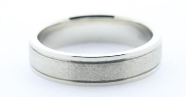 White golden ring