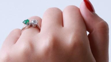 Unique diamonds for an extraordinary woman