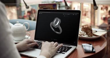 Buying a ring that is printed?