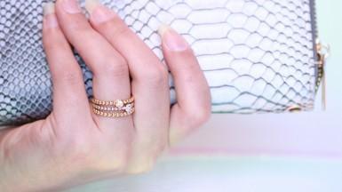 How do I let my golden ring shine on Instagram?