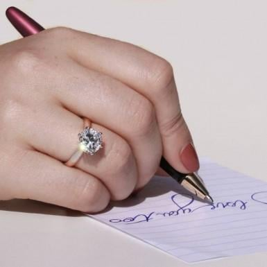 Favoured ring designs for second marriages