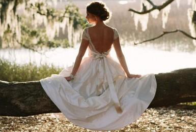Who will help me find the perfect wedding dress to match my diamond ring?