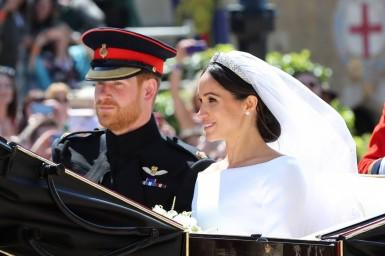 What exquisite jewels and diamonds graced the wedding of Prince Harry and Meghan Markle?