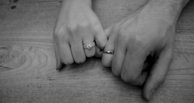 How can we easily exchange wedding rings in secret or as a surprise?