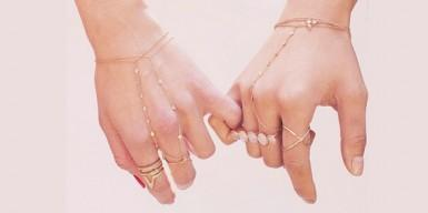 Trend: the hand chain