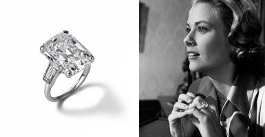 The engagement ring over time: from royalties to celebrities