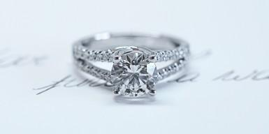 The search for the perfect diamond ring